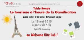 Évènement à ne pas manquer : le tourisme à l'heure de la gamification!